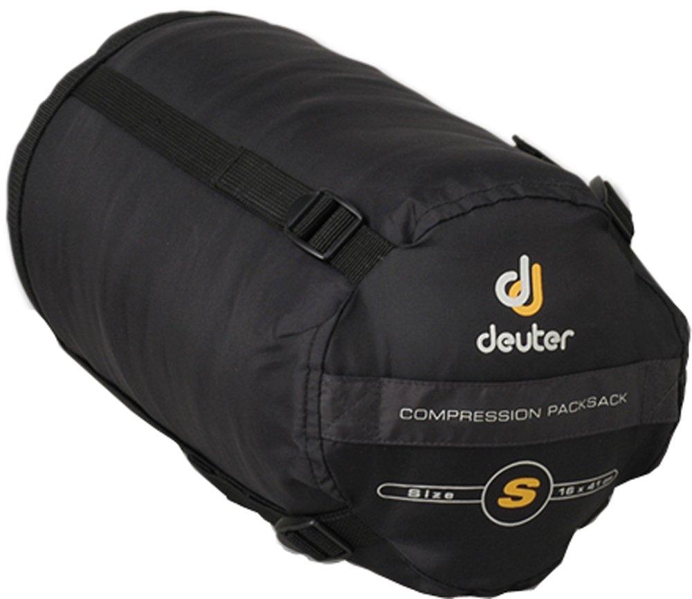 Deuter Compression Packsack S - Saco de dormir momia para acampada, color negro: Amazon.es: Deportes y aire libre