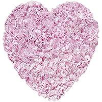 The Rug Market Shaggy Raggy Heart Pink Area Rug Size 3x3 HEART
