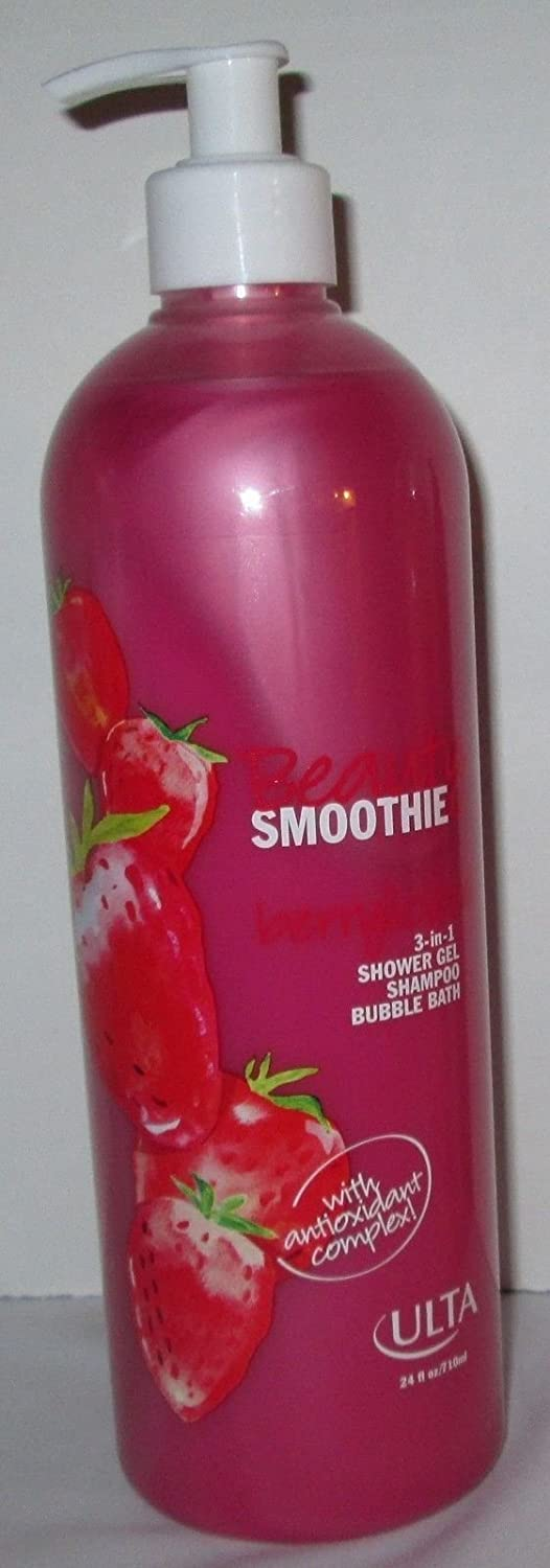 amazon com ulta beauty berrylicious smoothie 3 in 1 shower gel