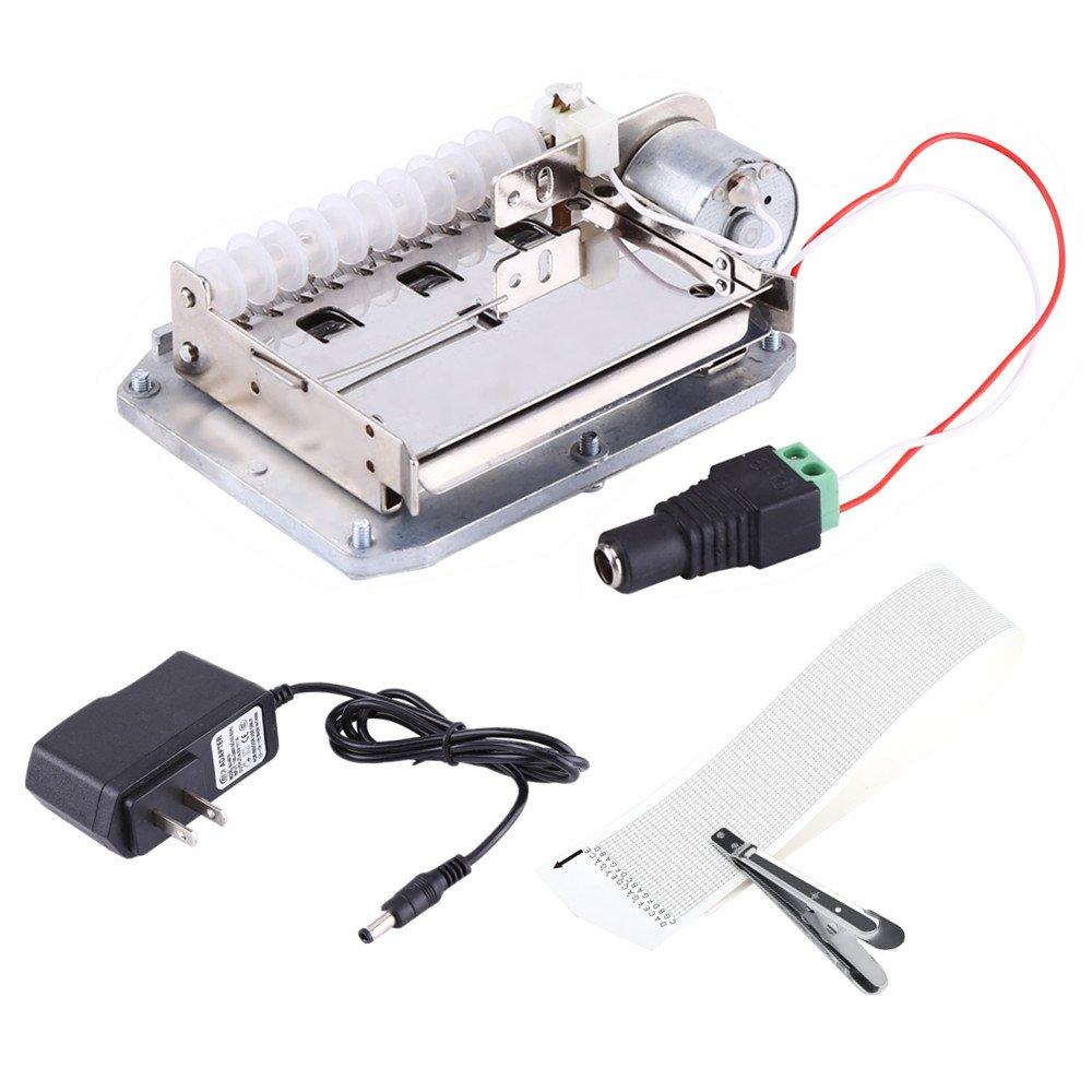 国内初の直営店 30 Note Electric Motor Note Music Box with Movement with Tapes Puncher and3pcs Tapes US Plug B075WWYHJZ, 品質のいい:f2b2d8e2 --- arcego.dominiotemporario.com