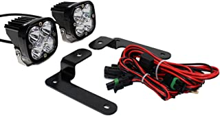 product image for Baja Designs A-Pillar Squadron Pro LED Light Kit compatible with Jeep Gladiator