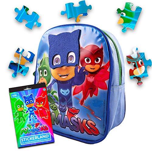 Disney Toddler Preschool Backpack 10 inch Mini Backpack (PJ Masks)