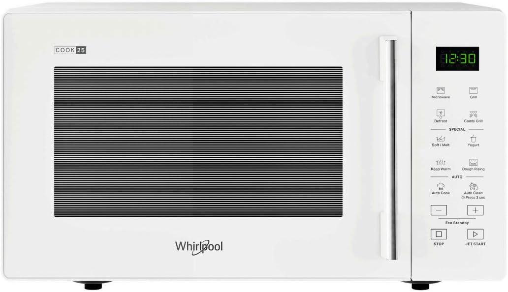 Whirlpool MWP253W Microondas, Color blanco: Amazon.es: Hogar