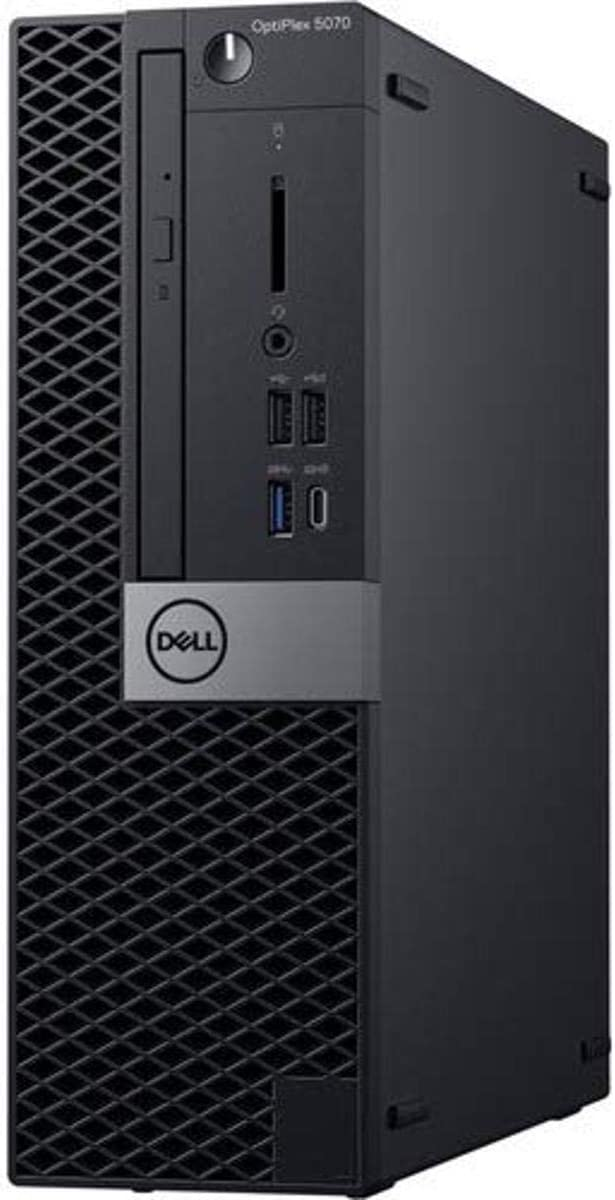 Dell OptiPlex 5070 Desktop Computer - Intel Core i5-9500 - 8GB RAM - 500GB HDD - Small Form Factor -Windows 10 Pro   Amazon