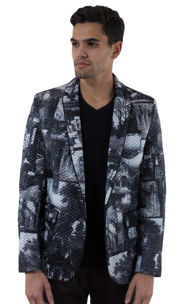 Barabas Men's ''Valley'' Blazer Jacket XX Large