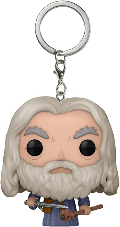 "GANDALF 2/"" POCKET POP KEYCHAIN VINYL FIGURE FUNKO THE LORD OF THE RINGS"