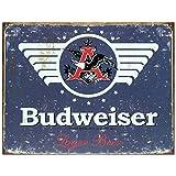 Budweiser Retro 1936 Logo Bar Sign   Budweiser Sign by BeerBucketsPLUS.com