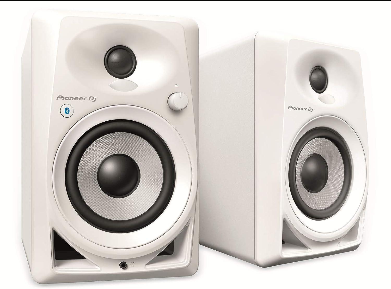 Pioneer DM-40BT altavoz De 2 vías Blanco Inalámbrico y alámbrico 3,5mm/Bluetooth - Altavoces (De 2 vías, Inalámbrico y alámbrico, 3,5mm/Bluetooth, 70 - 30000 Hz, 10000 Ω, Blanco)
