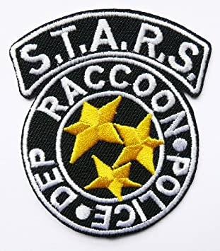 Resident Evil Stars RCPD Iron Sew on Embroidered Patch