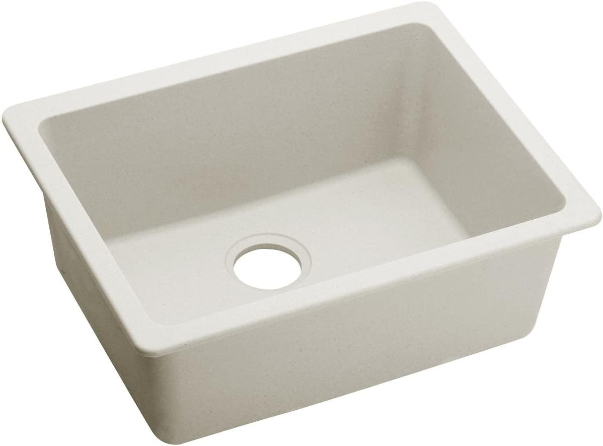 Elkay Quartz Luxe ELXU2522RT0 Ricotta Single Bowl Undermount Sink