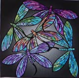 Dance of the Dragonflies~Pre-Cut Applique Kit~40'' x40'' by Hoffman of CA.