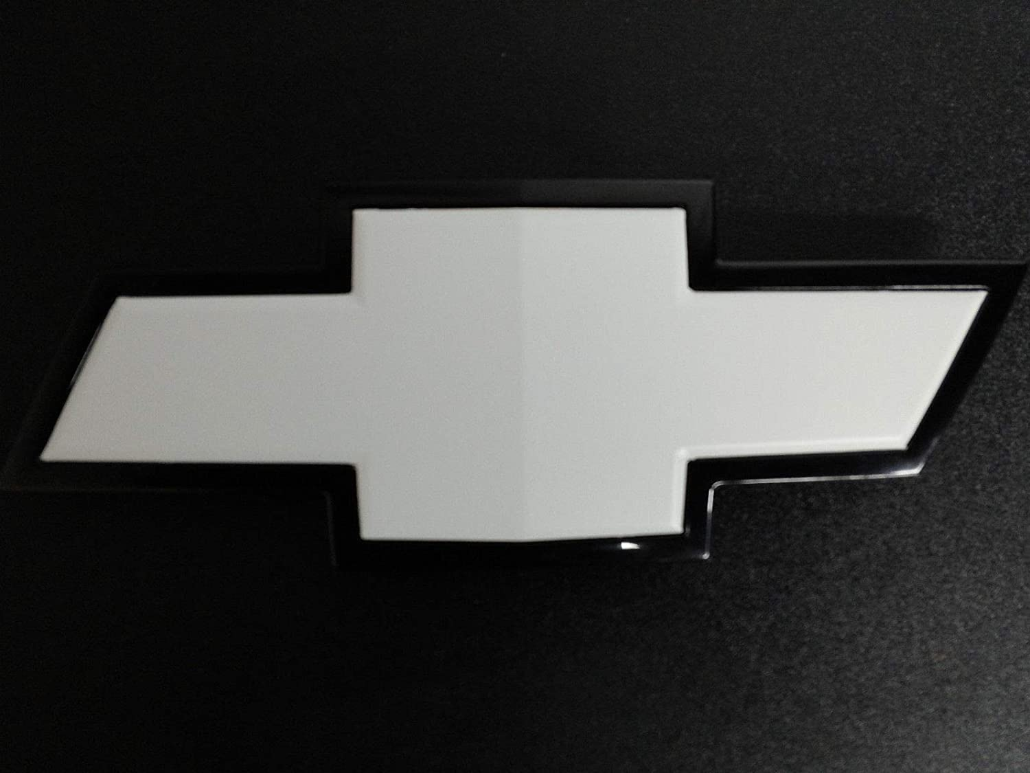 Black XYC 2 pcs Vinyl Sheets to Overlay and Cut for Chevy Bowtie Emblems Grill /& Rear