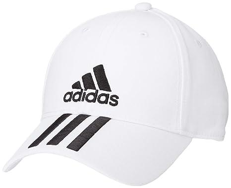 07c79fe30b1 adidas Hat Training Six Panel 3-Stripes Climalite Cap Fashion Logo ...