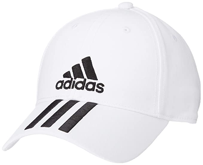 126629f700 adidas Hat Training Six Panel 3-Stripes Climalite Cap Fashion Logo ...