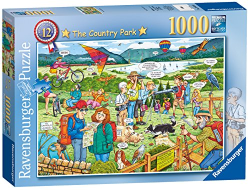 Ravensburger Best of British The Country Park Puzzle (1000-Piece)
