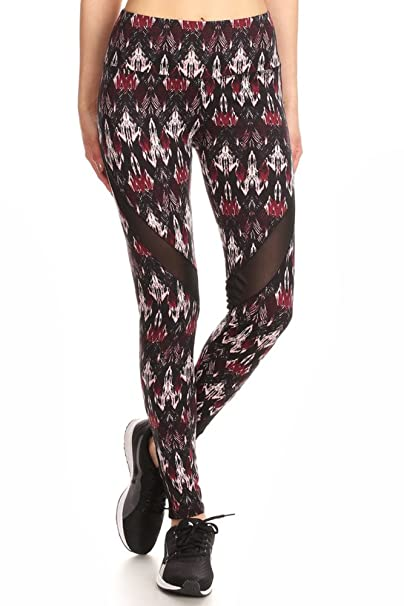 Amazon.com: shosho Womens Malla Leggings Activewear trabajo ...
