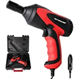 GETUHAND Car Impact Wrench 1/2 Inch & 12 Volt Portable Electric Impact Wrench Kit, Tire Repair Tools with Sockets and…