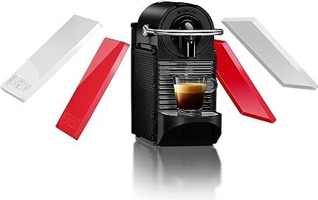 Nespresso DeLonghi Pixie Clips EN126 - Cafetera monodosis de cápsulas Nespresso, 19 bares, apagado automático, colores intercambiables rojo y blanco: Amazon.es: Hogar