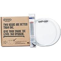 EVANS PACK 14 B14G1 COATED (BATTER HEAD) + 14 S14H30 (SNARE SIDE) + 14 PURSOUND CUSTOM PRO STEEL 20 STR Drum accessories Tom - Snare heads