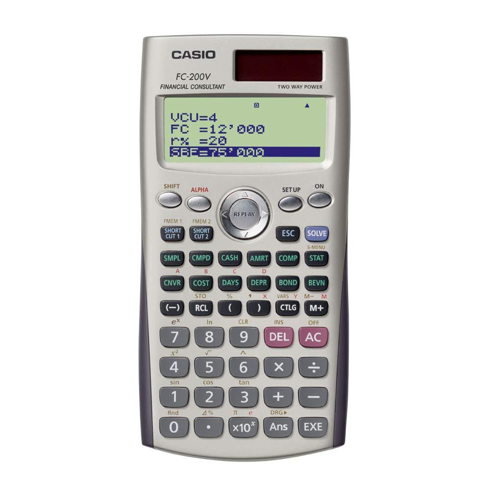 Casio FC-200V calcolatrice