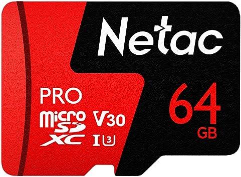 Amazon.com: Tarjeta micro SD 64G, U3 V30 tarjeta de memoria ...