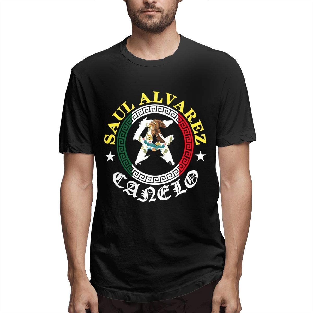 Saul Alvarez Canelo 1 - Camiseta deportiva de manga corta para hombre
