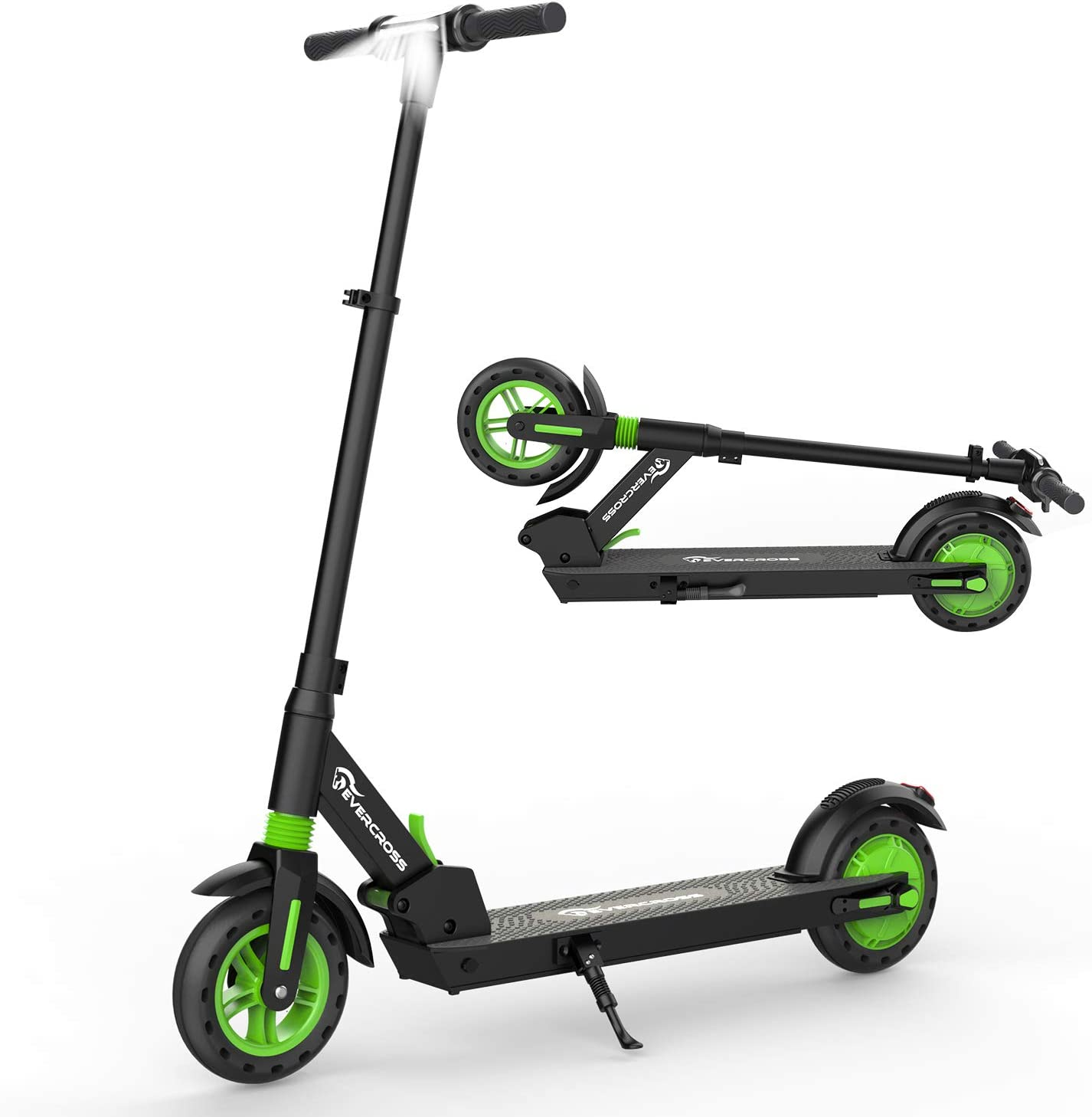 EVERCROSS Folding Electric Scooter with 8 Inch Tires for 4.15