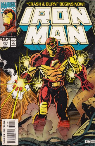 Iron Man #301 (Volume 1) - Tampa Ironman
