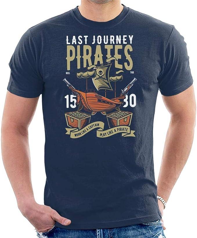 Coto7 Last Journey Pirates Ship Kids T-Shirt