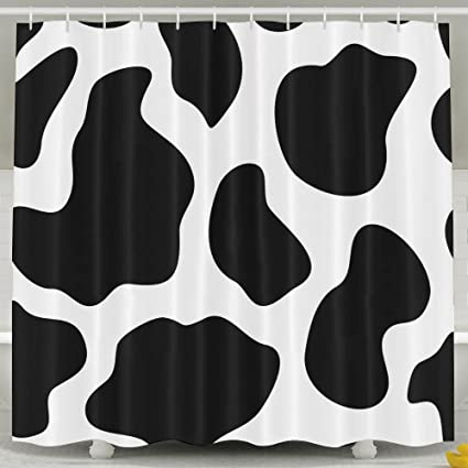 Amazon Haixia Cow Print Hide Of A With Black Spots Abstract