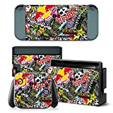 FriendlyTomato Nintendo Switch Console and Controller Skin Set – Collage Hoonigan For Sale