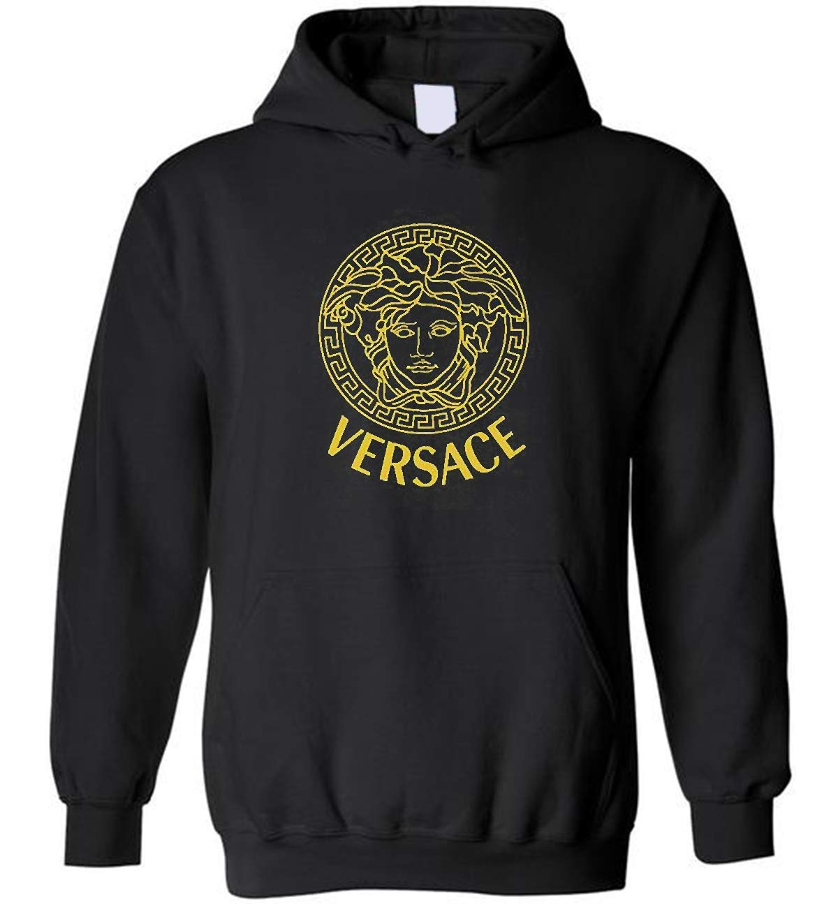 Ver sace Inspired Unisex Hoodie For You Ver sace Vintage Embellished Medusa Hoodie Gift Shirt
