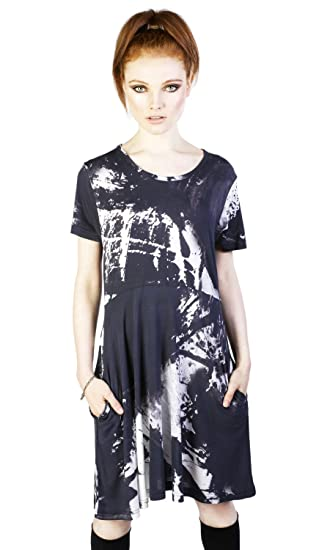9b85fde59010 Disturbia Ink Dress at Amazon Women's Clothing store: