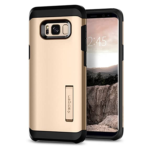 quality design de54b 2730c Spigen Tough Armor Designed for Samsung Galaxy S8 Case (2017) - Maple Gold