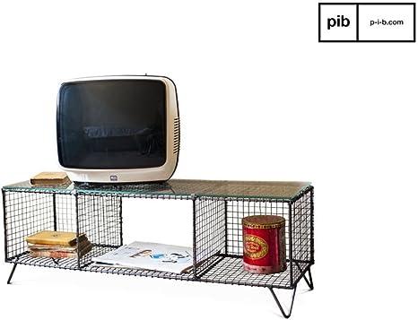 pib - Muebles TV - Consola de TV de diseño Industrial Ontario, Una ...