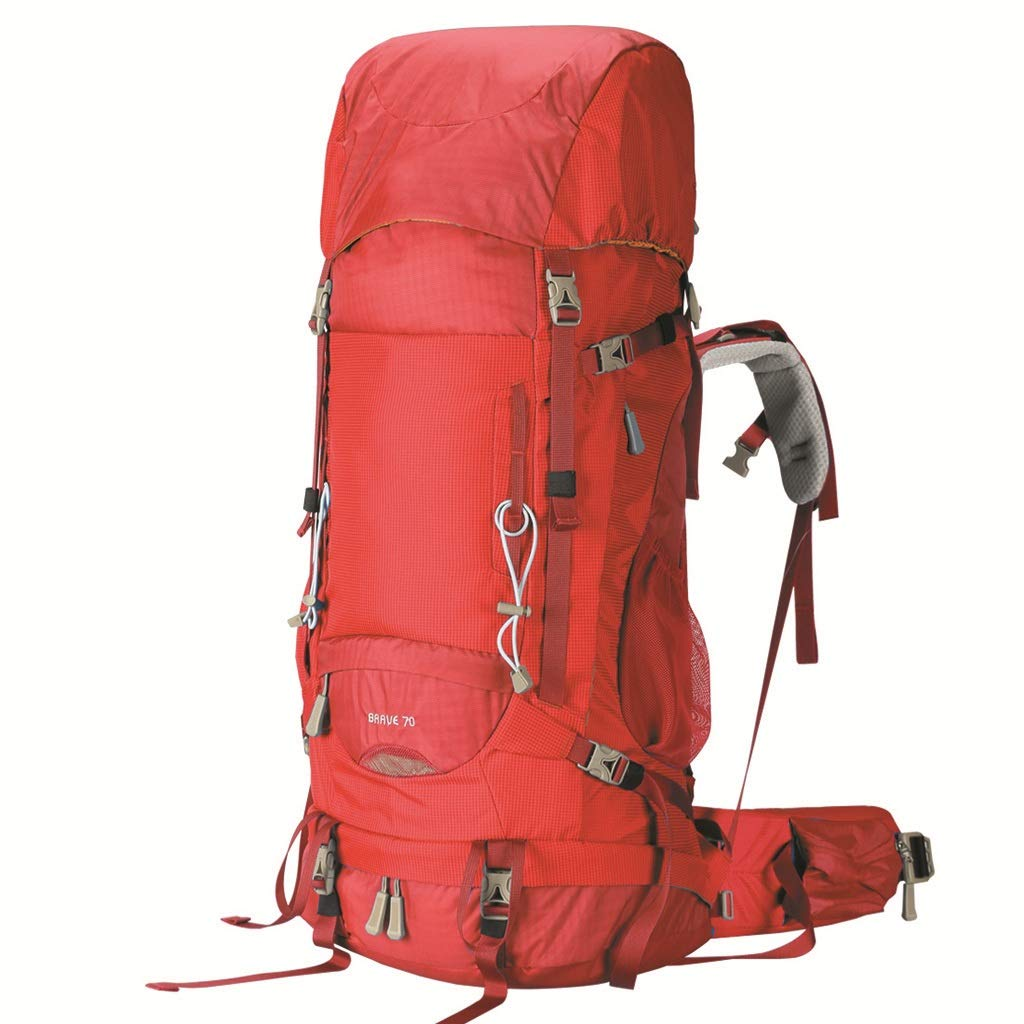 Mountaineering バッグ ショルダー 70L トラベルバッグ ハイキング アウトドアバッグ 大容量 旅行用バックパック (ブルー) B07GZPB5XR B