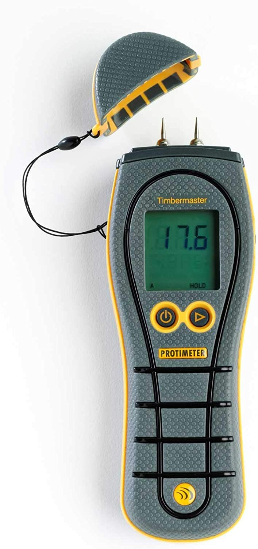 Protimeter BLD5609 Timbermaster Handheld Moisture Meter with Heavy Duty Moisture Probe