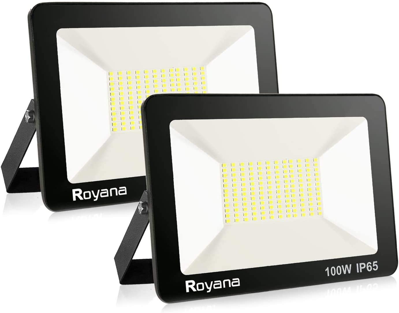 2pack 100W LED Flood Light Outdoor