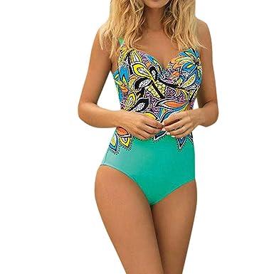 new product f2ce6 5258c Badeanzug Damen Cramberdy Monokini Damen Push Up Strandmode ...