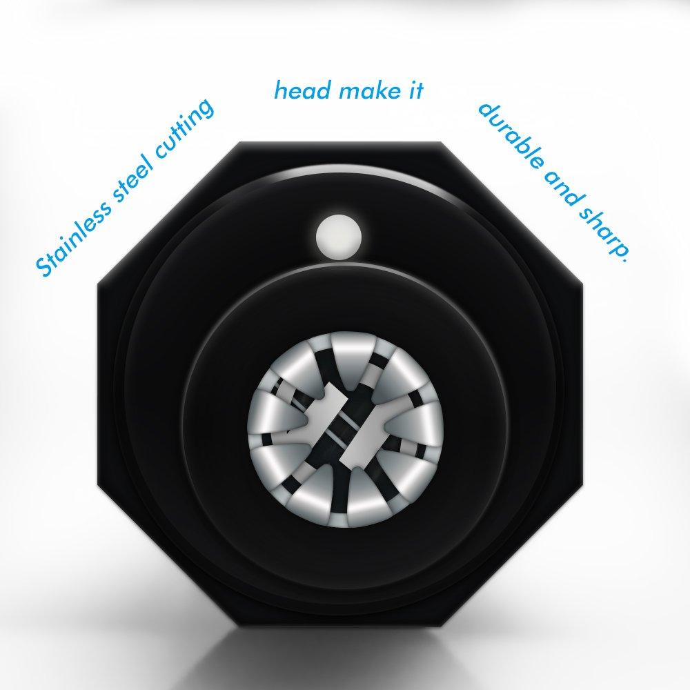 61EV5PvXEhL. SL1000  Ovinna NoseT BK HB, rifinitore e tagliapeli elettrico per orecchie e naso