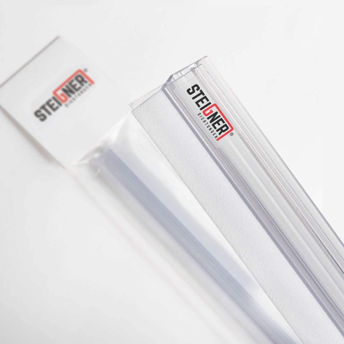 STEIGNER 51516390 70cm UK17-Duschdichtung VORGEBOGEN-5mm 6mm// 7mm// 8mm