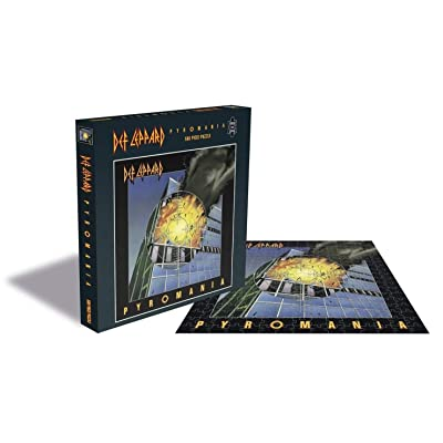 Rock Saws - Def Leppard Pyromania - 500 Piece Jigsaw Puzzle: Toys & Games