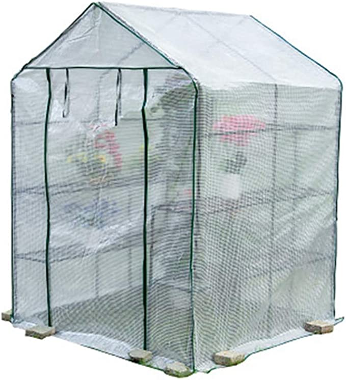 CMYY Mini Invernadero portátil, Lona de Malla, para Interiores y ...