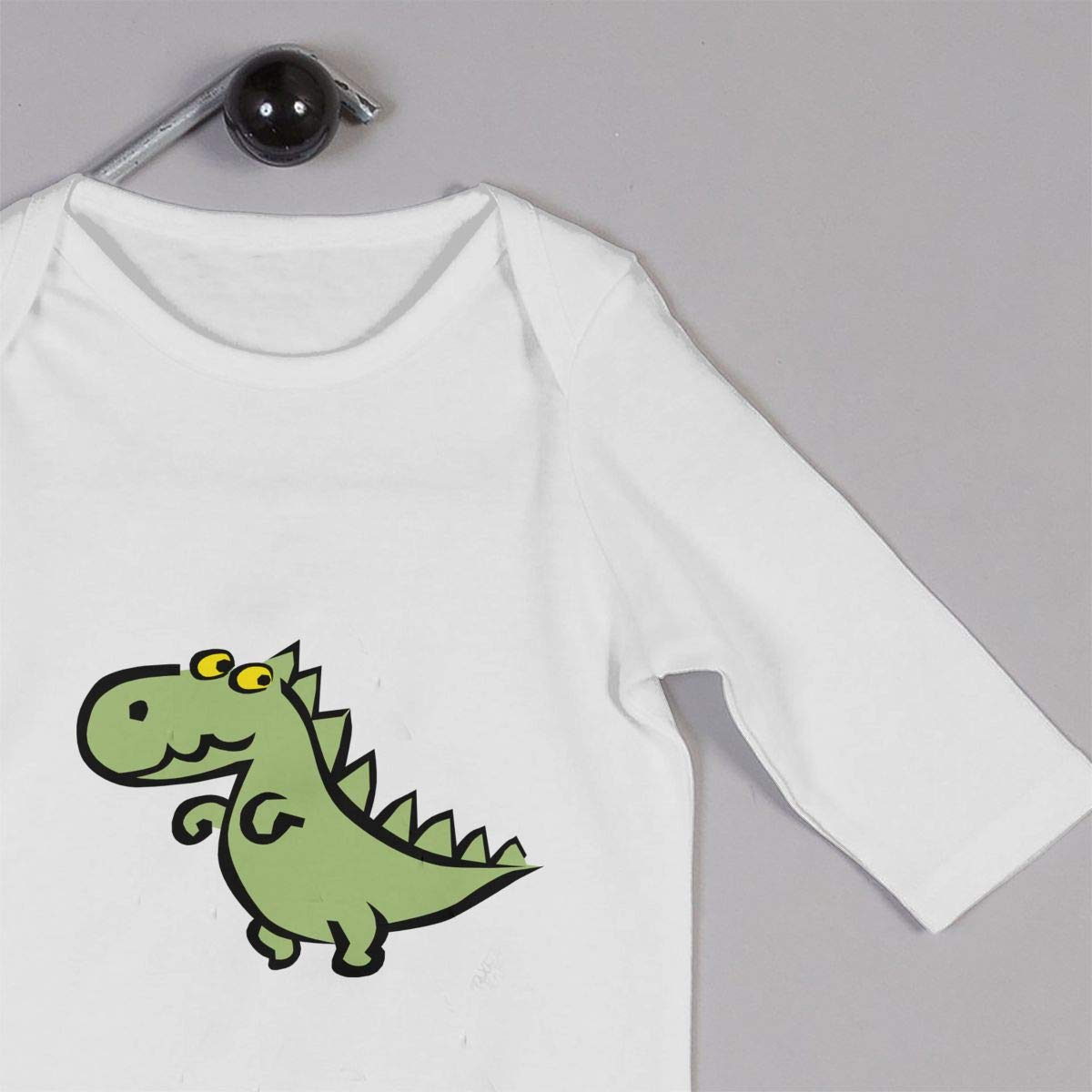 KAYERDELLE The Cute Dinosaur Long Sleeve Unisex Baby Outfit for 6-24 Months Infant