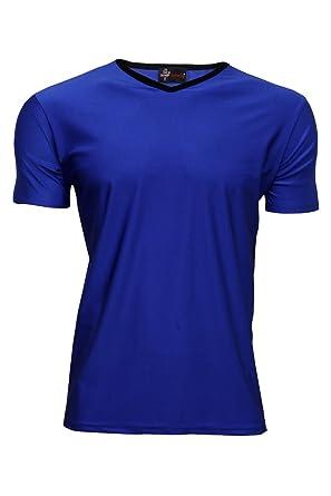 Men s fluo UV en Lycra Stretch Clubwear T-Shirt à col en V-Femme   Amazon.fr  Vêtements et accessoires 114ef0589816