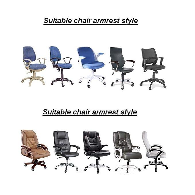 Amazon.com: Tusscle - Fundas para reposabrazos de silla ...