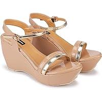 DEEANNE LONDON Woman's (DN-98) Fashion Wedges Heel