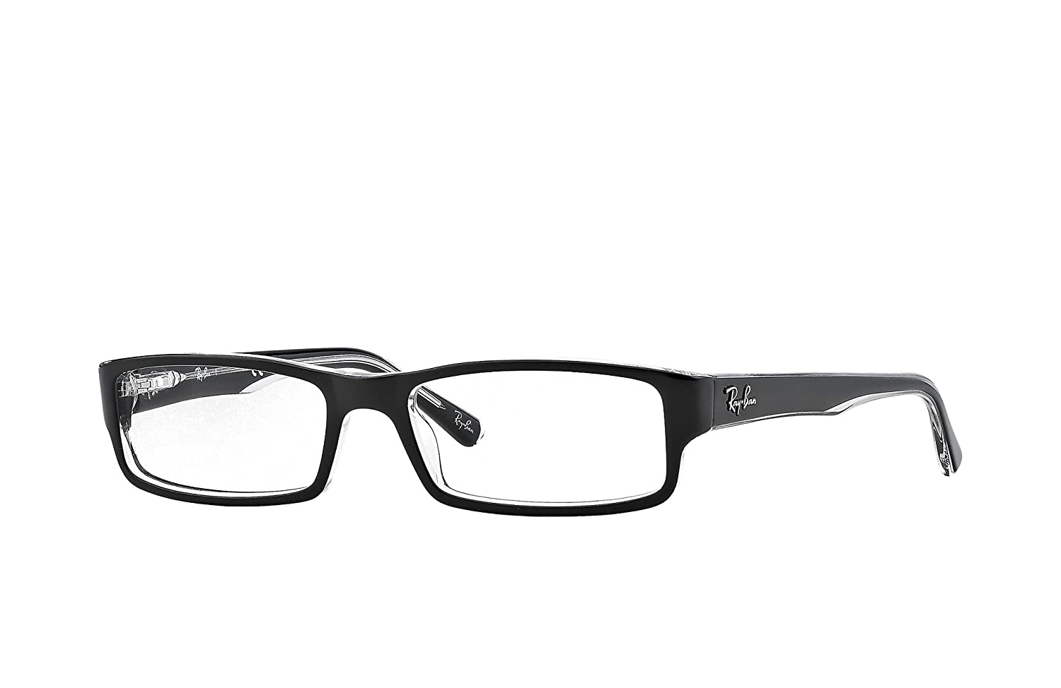 8d7a2b088ef Amazon.com  RAY BAN 5246 SIZE 50 READING GLASSES +1.75  Clothing