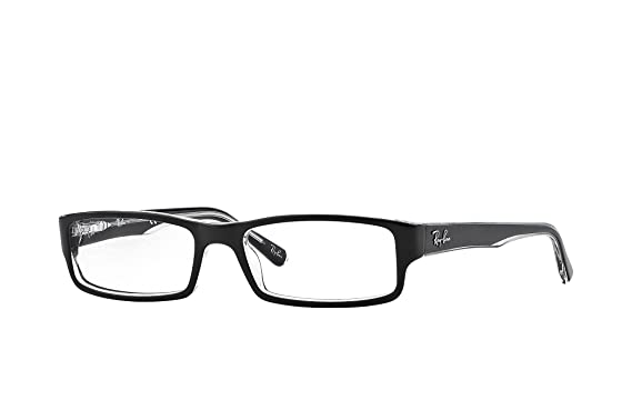 64fcafdcdd2 Amazon.com  RAY BAN 5246 SIZE 50 READING GLASSES +1.75  Clothing