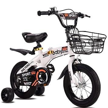 JYXZ Bicicleta De Niños Bicicletas Plegables 16